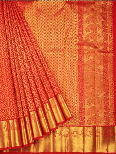 Vivaha Goddess Pure Kanchipuram Silk Saree - NJB0202667