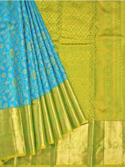 Vivaha Goddess Pure Kanchipuram Silk Saree - OFB8739250