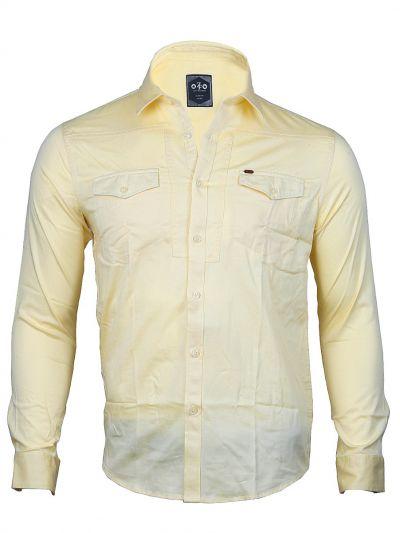 ZF Men's Casual Cotton Shirt - MGA8055815