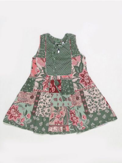 MKC9851389 - Girls Cotton Frock
