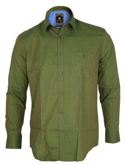 Zulus Festin Men's Formal Cotton Shirt - MGA8035397