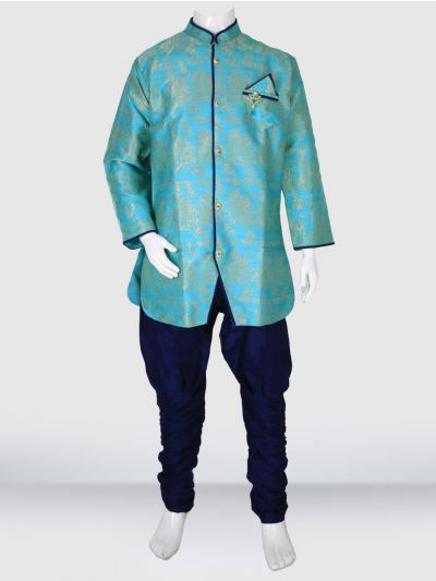 MR HOOKS Exclusive Boys Sherwani Set - MIB3391022