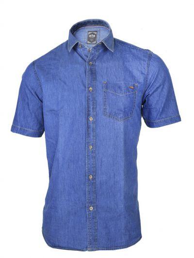 ZF Men's Casual Denim Shirt - MFB6207022