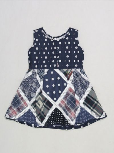 MLB1289811 -  Girls Cotton Frock