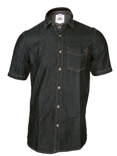 ZF Men's Casual Denim Shirt - MFB6207036