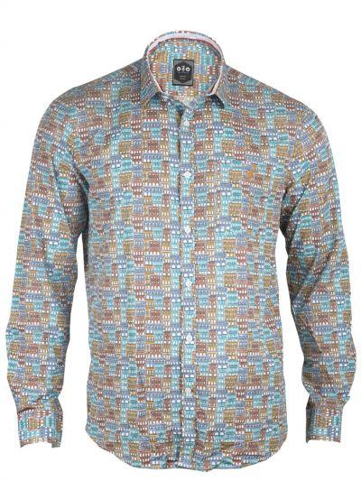 ZF Men's Casual Cotton Shirt - MGA8253673