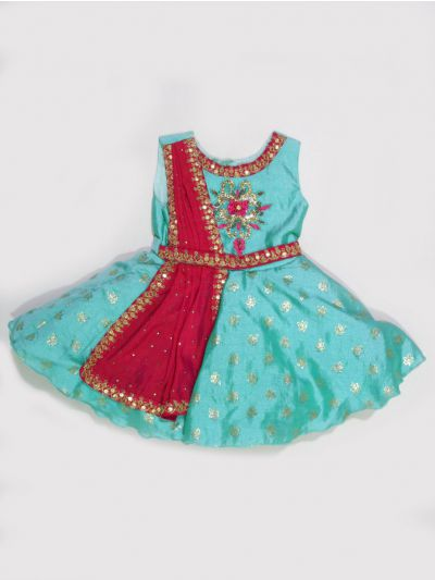 MGA8179504 - Girls Fancy Synthetic Frock