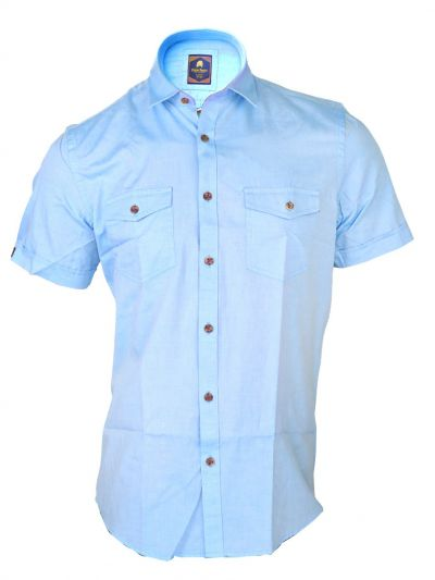 Zulus Festin Men's Casual Pure Cotton Shirt - MGA8251350
