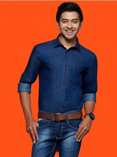 ZF Men's Readymade Casual Cotton Shirt - MGA8029945