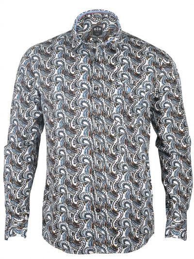ZF Men's Casual Cotton Shirt - MGA8253661