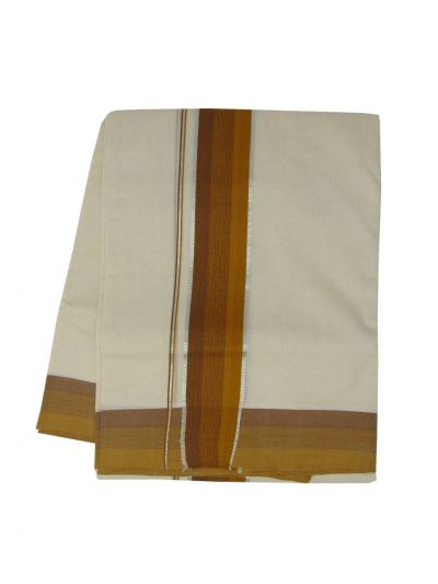 KKV Men's Cotton Dhoti - NJA9702789-EKM