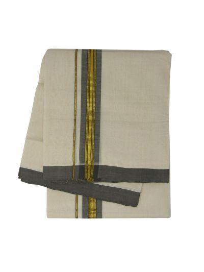KKV Men's Cotton Dhoti - NJA9702459-EKM