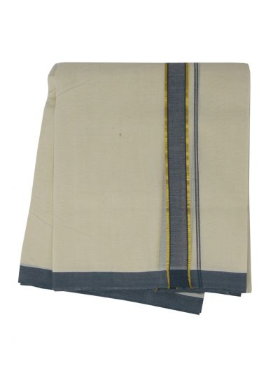 KKV Men's Cotton Dhoti - NJA9702487-EKM