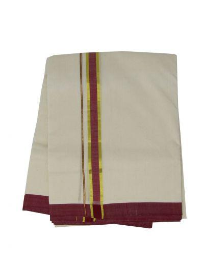 KKV Men's Cotton Dhoti - NJA9702518-EKM