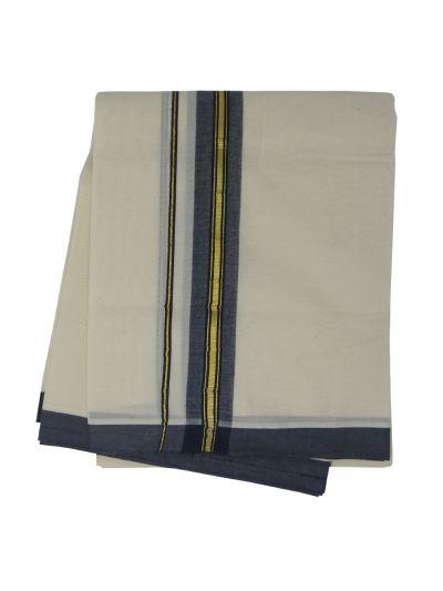 KKV Men's Cotton Dhoti - NJA9702589-EKM