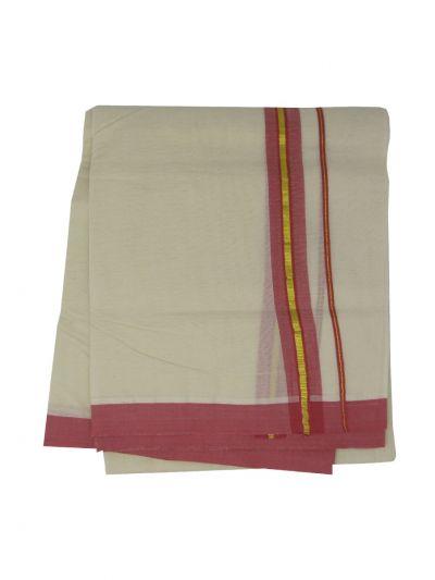 KKV Men's Cotton Dhoti - NJA9702591-EKM