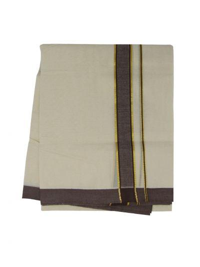 KKV Men's Cotton Dhoti - NJA9702598-EKM