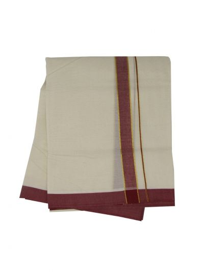KKV Men's Cotton Dhoti - NJA9702599-EKM