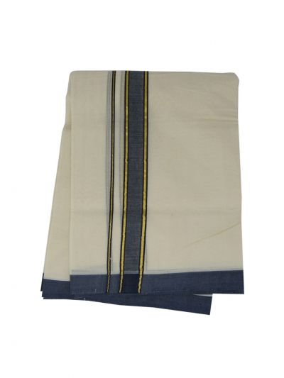 KKV Men's Cotton Dhoti - NJA9702613-EKM