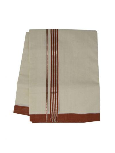 KKV Men's Cotton Dhoti - NJA9702777-EKM