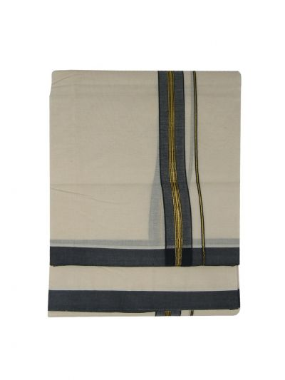 KKV Men's Cotton Dhoti - NEB2063113-EKM