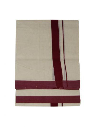 KKV Men's Cotton Dhoti - NJA9702549-EKM