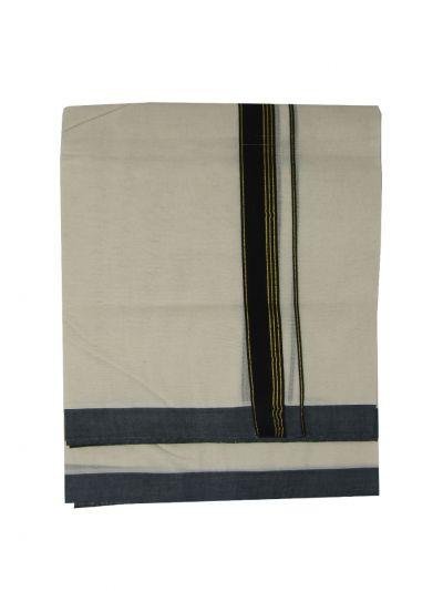 KKV Men's Cotton Dhoti - NJA9702691-EKM