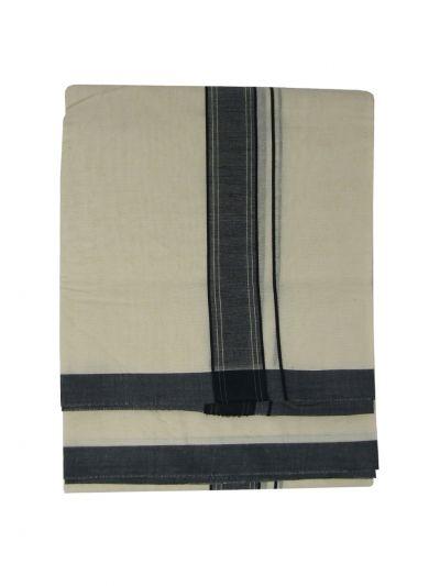 KKV Men's Cotton Dhoti - NKC3651261-EKM