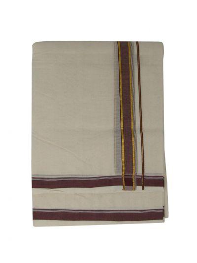 KKV Men's Cotton Dhoti - NKC3651263-EKM