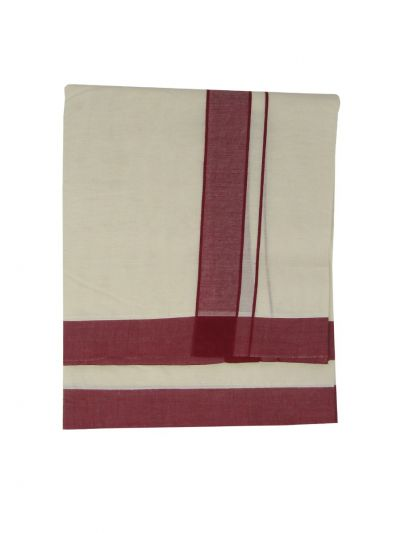 KKV Men's Cotton Dhoti - NKC3651270-EKM