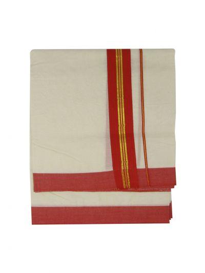 KKV Men's Cotton Dhoti - NKC3651275-EKM