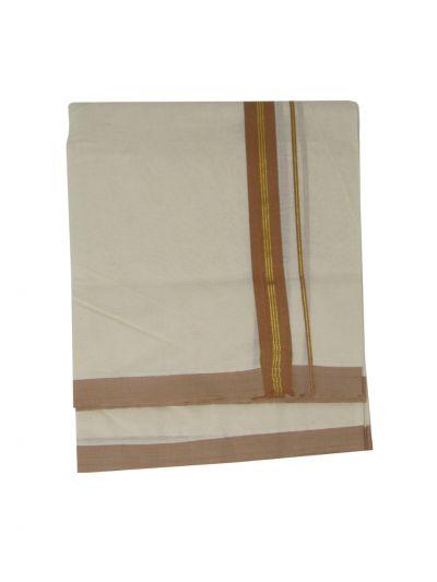 KKV Men's Cotton Dhoti - NKC3651278-EKM