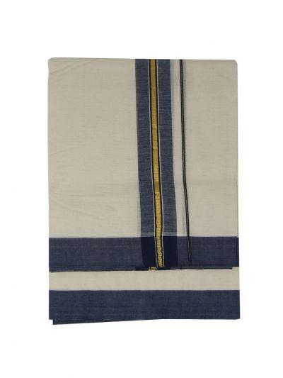 KKV Men's Cotton Dhoti - NKC3651294-EKM