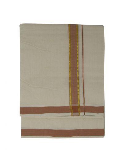 KKV Men's Cotton Dhoti - NKC3651345-EKM