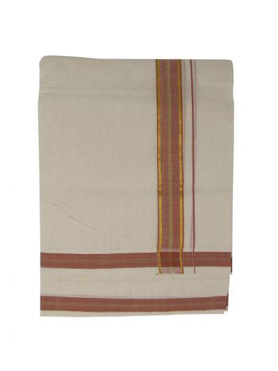 KKV Men's Cotton Dhoti - NKC3651343-EKM