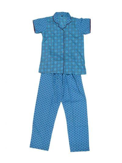 Women Cotton Nightwear/Night Suit - NKD4150991-EKM