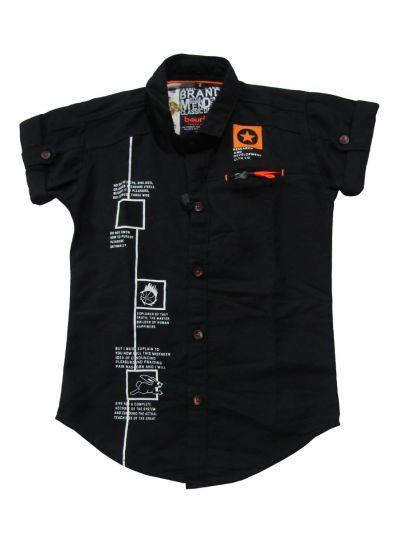 Boys Casual Cotton Shirt - EKM