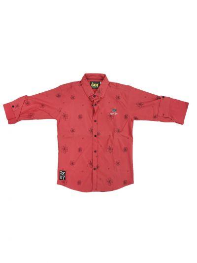 Boys Casual Cotton Shirt - NCE0543996