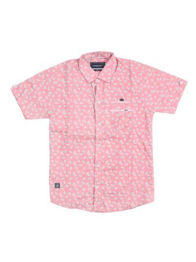 Boys Casual Cotton Shirt - NFE5882906