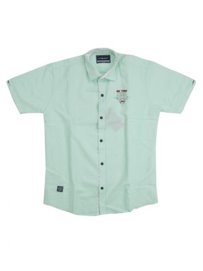 Boys Casual Cotton Shirt With T-Shirt - NFE5882960