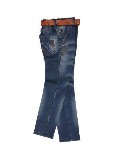 Boys Casual Denim Trousers - NDC1406509