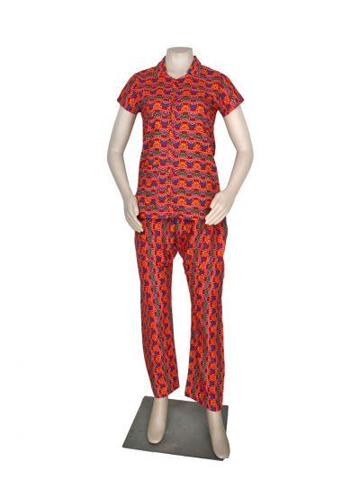 Women Cotton Nightwear/Night Suit