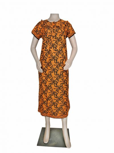 Women Cotton Nighty - OEA4040854