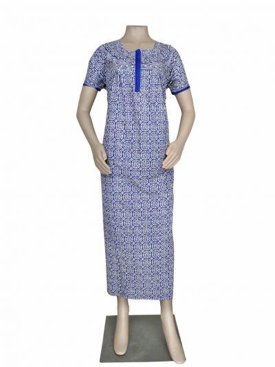 Women Cotton Nighty - OEA4040880