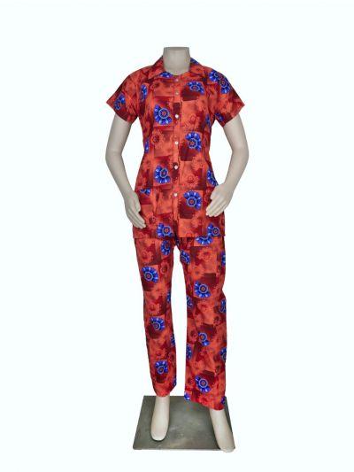 Women Cotton Nightwear/Night Suit - OEA4476532