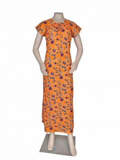 Women Cotton Nighty - OEA4649556