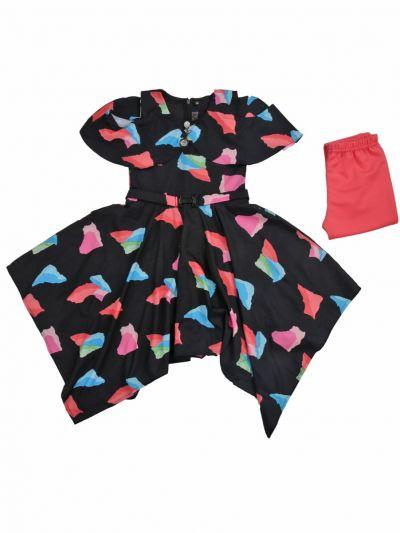 Girls Fancy Western Dress - MLB1277022