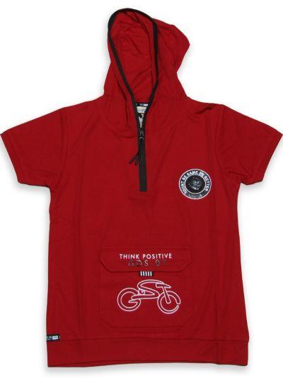 NHC4889454 - Boys Hooded T-Shirt