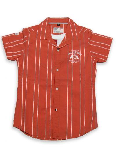 NGB9027701 - Boy Shirt With T-shirt