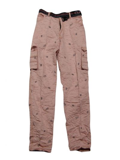Boys Casual Cotton Trousers - NIE8354897
